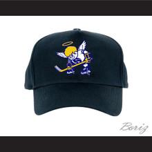 WHA Minnesota Fighting Saints Black Baseball Hat