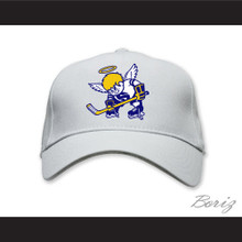 WHA Minnesota Fighting Saints White Baseball Hat
