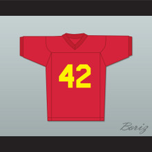 Donovan McCrary Young Ricky Baker 42 Red Football Jersey Boyz n the Hood