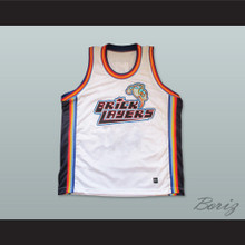 Blank Bricklayers Basketball Jersey Sixth Annual Rock N' Jock B-Ball Jam 1996