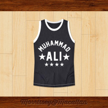 Boxer Muhammad Ali Basketball Jersey NYC 1974 Heavyweight Champion by Morrissey&Macallan