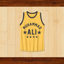 Boxer Muhammad Ali Basketball Jersey Quote by Morrissey&Macallan