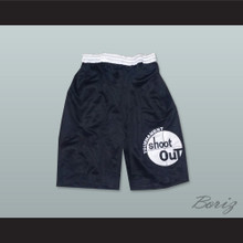 Tournament Shoot Out Black Basketball Shorts