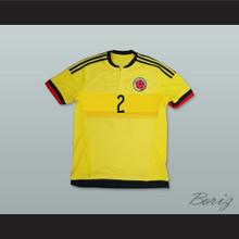Pablo Escobar 2 Colombia Football Soccer Shirt Jersey