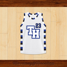 Nathan Scott 23 One Tree Hill Ravens Basketball Jersey by Morrissey&Macallan