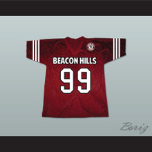 Bobby Finstock 99 Beacon Hills Cyclones Lacrosse Jersey Teen Wolf Includes Patch
