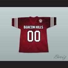 Derek Hale 00 Beacon Hills Cyclones Lacrosse Jersey Teen Wolf Includes Patch