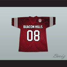 Matt Daehler 08 Beacon Hills Cyclones Lacrosse Jersey Teen Wolf Includes Patch