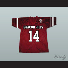 Isaac Lahey 14 Beacon Hills Cyclones Lacrosse Jersey Teen Wolf Includes Patch