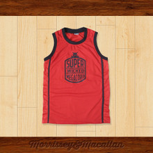 Super Wicked Megacorp 69 Destroyer Basketball Jersey by Morrissey&Macallan