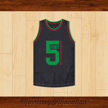 Phife Dawg 5 Foot Assassin Basketball Jersey by Morrissey&Macallan