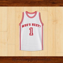 Who's Next? 1 Basketball Jersey by Morrissey&Macallan