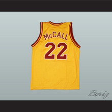 Omar Epps Quincy McCall 22 College Career Basketball Jersey Love and Basketball