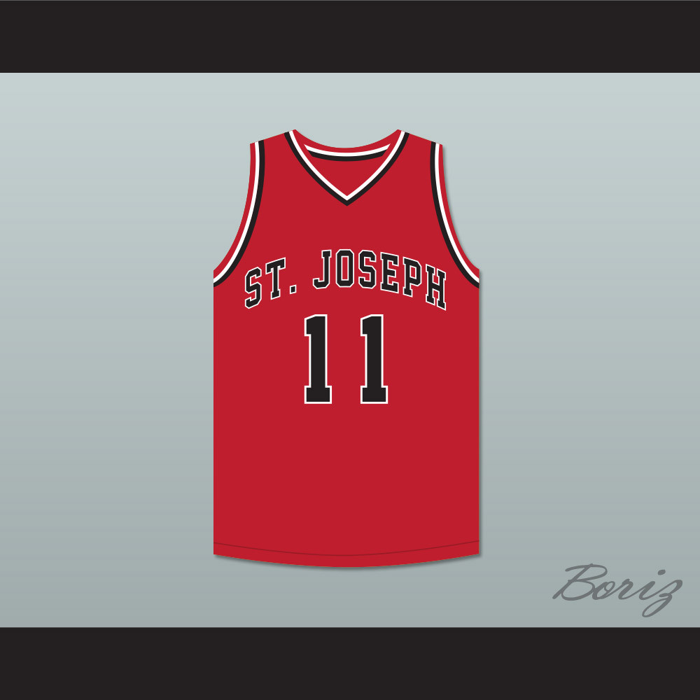 Isiah Thomas 11 St Joseph Chargers High School Red