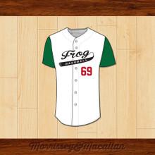 Frog Baseball 69 Beavis Baseball Jersey by Morrissey&Macallan