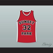 Terrence Howard Spaceman 32 Sunset Park Basketball Jersey