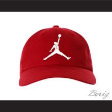 Urkel Jumpman Spoof Logo Red Baseball Hat Family Matters