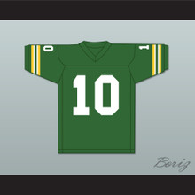 Allen Iverson 10 Bethel High School Bruins Green Football Jersey