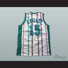 Master P Percy Miller 15 Pro Career White Basketball Jersey