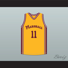 Arthur Agee Jr 11 John Marshall Metropolitan High School Commandos Basketball Jersey Hoop Dreams