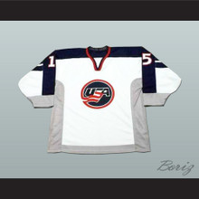 Brett Hull 15 USA National Team Hockey Jersey Any Player or Number