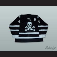 Peter Trumbley 44 Lake Charles Ice Pirates WPHL Hockey Jersey