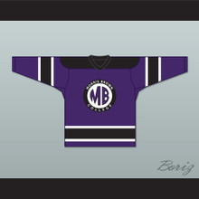 Martin Morris Brown College Hockey Jersey