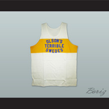1925 Olson's Terrible Swedes 7 Basketball Jersey