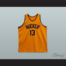 1946 Rucker Park NYC 13 Orange Basketball Jersey