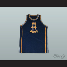 1970 MB PROS 44 Dark Blue Basketball Jersey