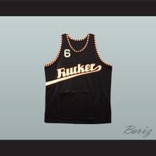 1977 Rucker Park 6 Black Basketball Jersey