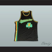 1972 Rucker Park Shamrocks 9 Black Basketball Jersey