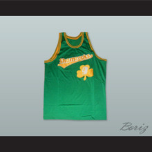 1972 Rucker Park Shamrocks 9 Green Basketball Jersey