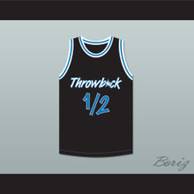 Anfernee Penny Hardaway Lil Penny 1/2 Throwback Black Basketball Jersey