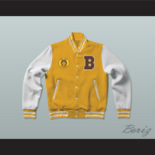 Bel-Air Academy Basketball Varsity Letterman Jacket-Style Sweatshirt The Fresh Prince of Bel-Air
