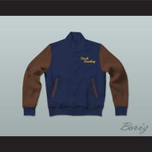 Coach Gordon Bombay Varsity Letterman Jacket-Style Sweatshirt