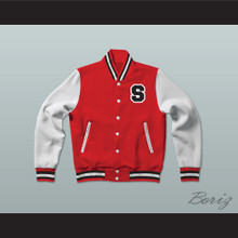 Sunset Park High School Varsity Letterman Jacket-Style Sweatshirt