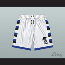 One Tree Hill Ravens White Basketball Shorts Raven