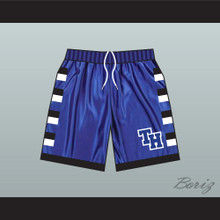 One Tree Hill Ravens Blue Basketball Shorts TH