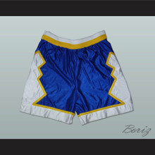 Blue White and Yellow Basketball