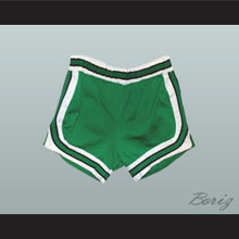 Green Retro Style Basketball Shorts