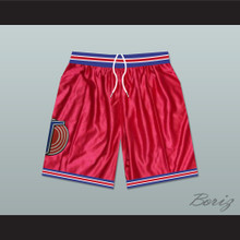 Michael Jordan Space Jam Tune Squad Basketball Shorts Red