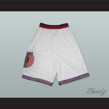 Michael Jordan Space Jam Tune Squad Shorts White