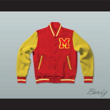 Thriller Michael Jackson Letterman Jacket-Style Sweatshirt