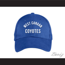 West Canaan Coyotes Blue Baseball Hat Varsity Blues