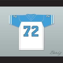 Bill Dauterive 72 Arlen Cougars High School Home Football Jersey