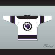 Martin Lawrence Martin Payne 23 Morris Brown College White Hockey Jersey