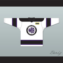 Martin Lawrence Martin Payne 23 Morris Brown College White Hockey Jersey with Patch