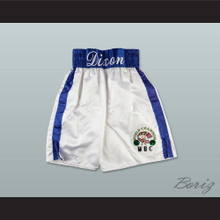 Mason 'The Line' Dixon Boxing Shorts with Embroidered WBC Champion Patch