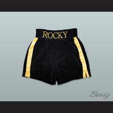 Rocky Balboa Rocky VI Black Boxing Shorts